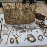 a display of cedar tools