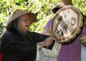 Tseshaht woman Anne Robinson