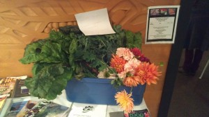 Chard and Flower Sharing